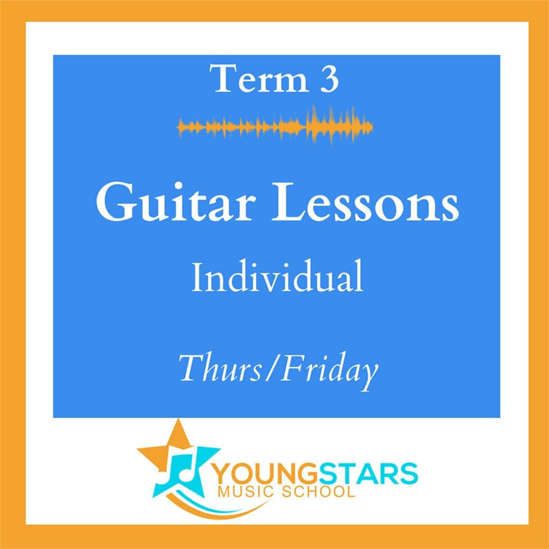 Guitar lessons individual Thurs/Friday