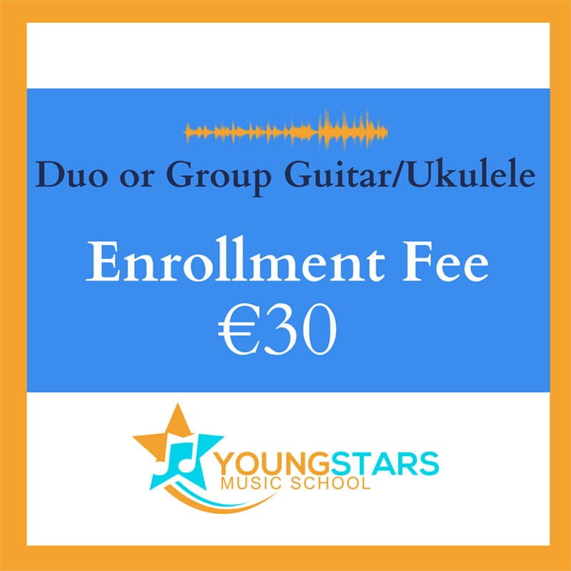 duo or group guitar/ukulele enrollment