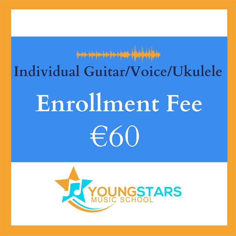 Individual Guitar/Voice/Ukulele enrollment