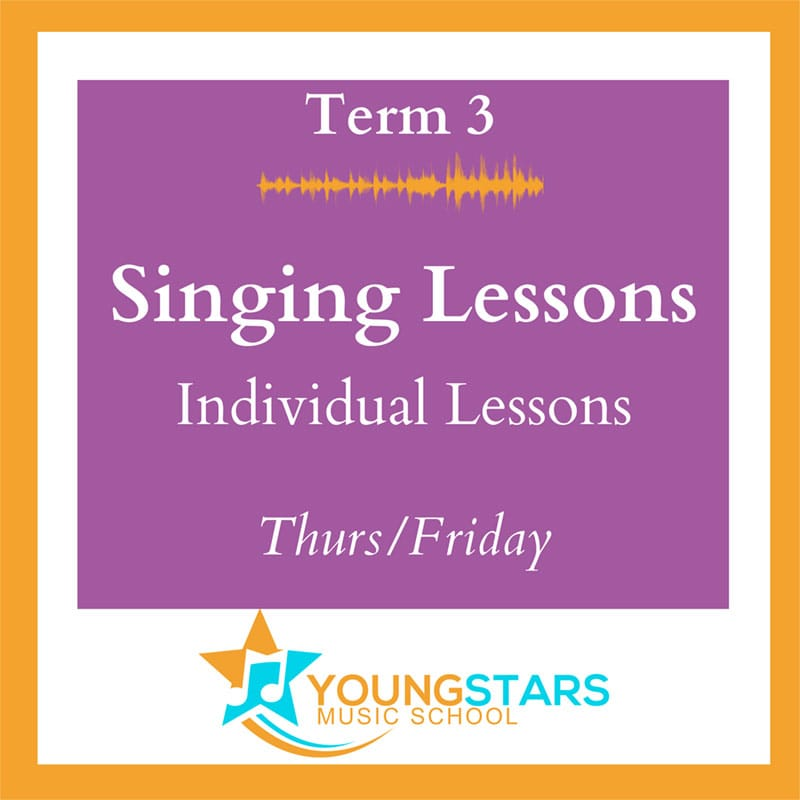 singing lessons individual Thurs/Friday
