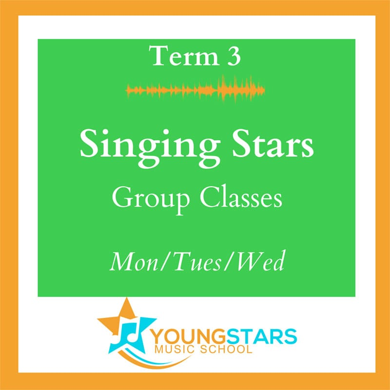 Singing Stars Group Classes Mon/Tues/Wed