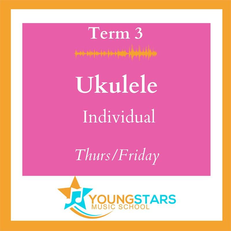 ukulele individual lessons Thurs/Fri